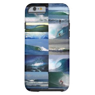 サーフィンの海洋波のモンタージュ ケース
