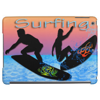 サーフィンのiPadの空気箱の精通した箱 iPad Airケース