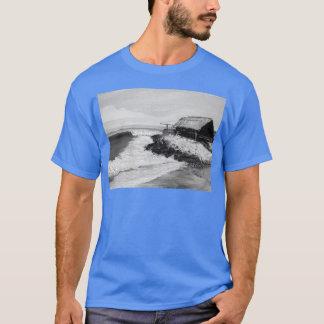 サーフィン、芸術、サーファー、女の子、人、項目エルサルバドルco tシャツ