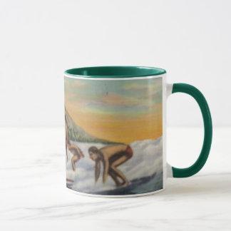 サーフィンWAIKIKIのマグ マグカップ