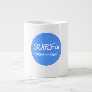 サーフイン ジャンボコーヒーマグカップ