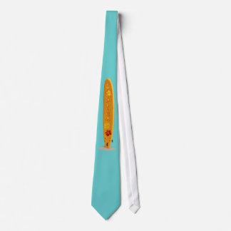 サーフボードとのアロハ オリジナルネクタイ