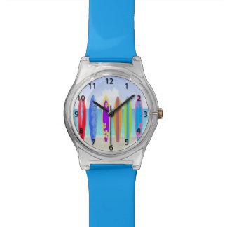 サーフボードのビーチの腕時計 腕時計