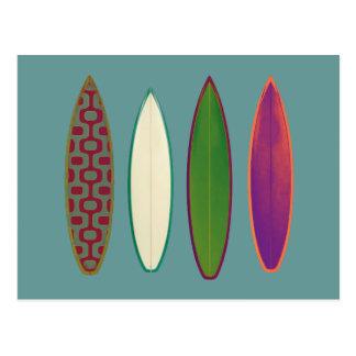 サーフボードの~のサーフィンのスタイル ポストカード