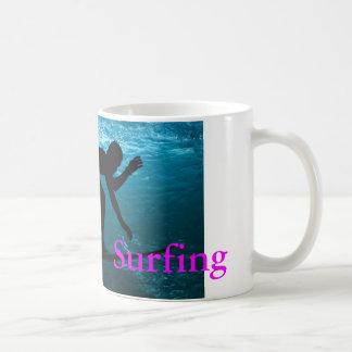 サーフ コーヒーマグカップ