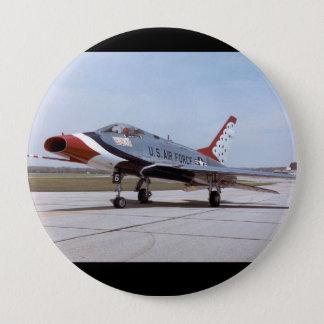 サーブル北アメリカF-100DによってすごいUSAF 10.2CM 丸型バッジ