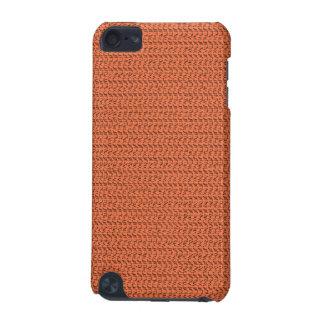 サーモンピンクの珊瑚の織り方の網の一見 iPod TOUCH 5G ケース