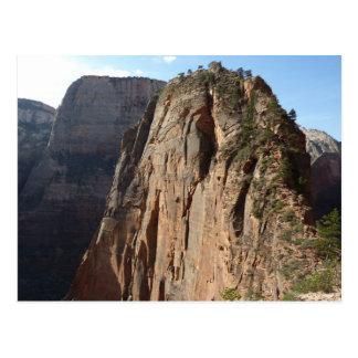 ザイオン国立公園で上陸する天使 ポストカード