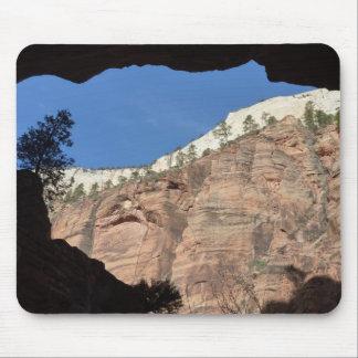 ザイオン国立公園の悪魔の階段からの眺め マウスパッド