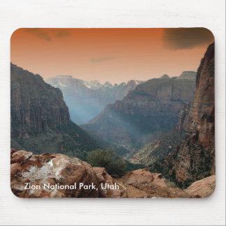 ザイオン国立公園、ユタ マウスパッド