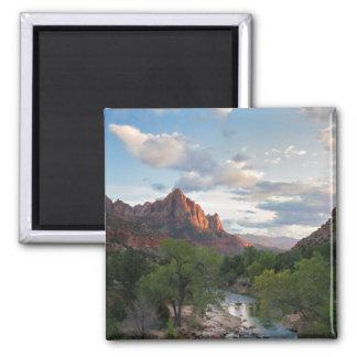 ザイオン国立公園-夜警の磁石 マグネット