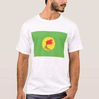 ザイールの旗(1971-1997年) Tシャツ