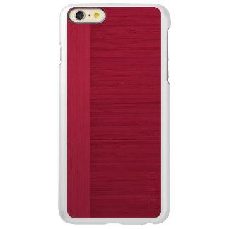 ザクロのタケボーダー木製の穀物の一見 INCIPIO FEATHER SHINE iPhone 6 PLUSケース