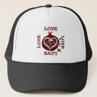 ザクロのハート愛バレンタイン キャップ