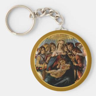 ザクロのマドンナ- Botticelli キーホルダー