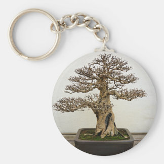 ザクロの盆栽の木 キーホルダー
