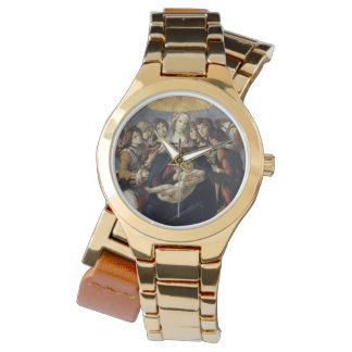 ザクロのBotticelliの腕時計のマドンナ 腕時計