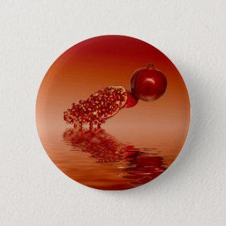 ザクロのsuperfoodのフルーツ 5.7cm 丸型バッジ