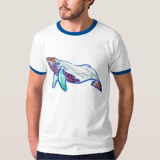 ザトウクジラのスケッチ Tシャツ