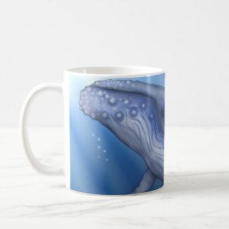 ザトウクジラのマグ コーヒーマグカップ