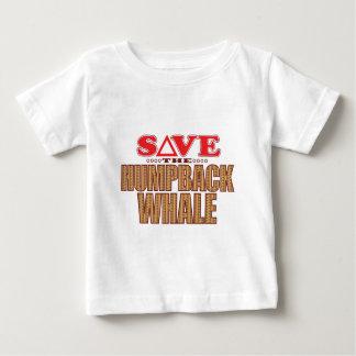 ザトウクジラの保存 ベビーTシャツ