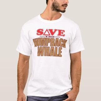 ザトウクジラの保存 Tシャツ
