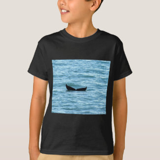 ザトウクジラの尾クイーンズランドオーストラリア Tシャツ