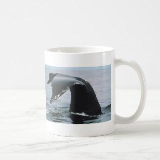 ザトウクジラの尾 コーヒーマグカップ