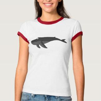 ザトウクジラの漫画 Tシャツ