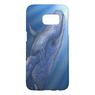 ザトウクジラの電話箱/カバー SAMSUNG GALAXY S7 ケース