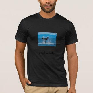 ザトウクジラ、クールなクジラ Tシャツ