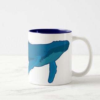 ザトウクジラ ツートーンマグカップ