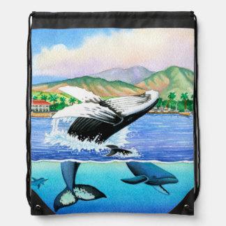 ザトウクジラ ナップサック