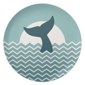 ザトウクジラ プレート