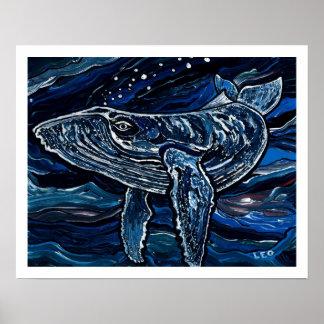 ザトウクジラ ポスター