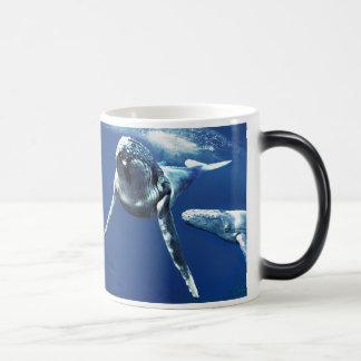 ザトウクジラ マジックマグカップ
