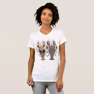 ザリガニcolor tシャツ