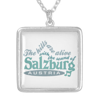 ザルツブルクのネックレス シルバープレートネックレス