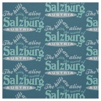 ザルツブルクオーストリアカスタムな色の生地 ファブリック
