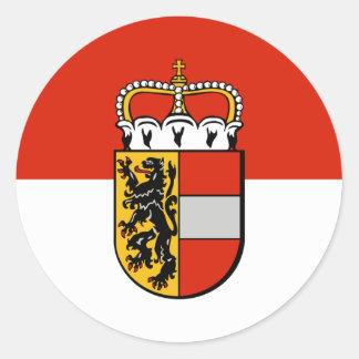 ザルツブルク、オーストリア ラウンドシール