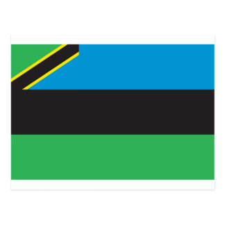 ザンジバルの旗 ポストカード