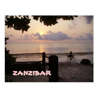 ザンジバルの日の出 ポストカード