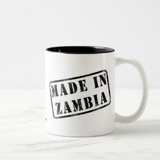 ザンビアで作られる ツートーンマグカップ