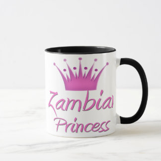 ザンビアのプリンセス マグカップ
