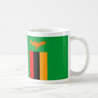 ザンビアの国旗の国家の記号 コーヒーマグカップ