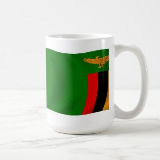 ザンビアの旗のマグ コーヒーマグカップ