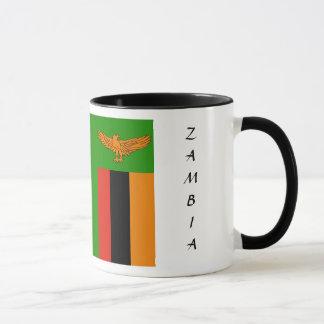 ザンビアの旗のマグ マグカップ