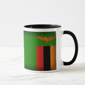 ザンビアの旗の動揺してなマグ マグカップ