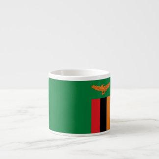 ザンビアの旗 エスプレッソカップ
