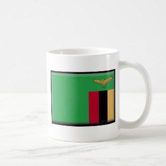 ザンビアの旗 コーヒーマグカップ